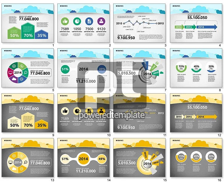 presentation-with-clouds-in-flat-design-powerpointjpg (770×630 - free online resumes