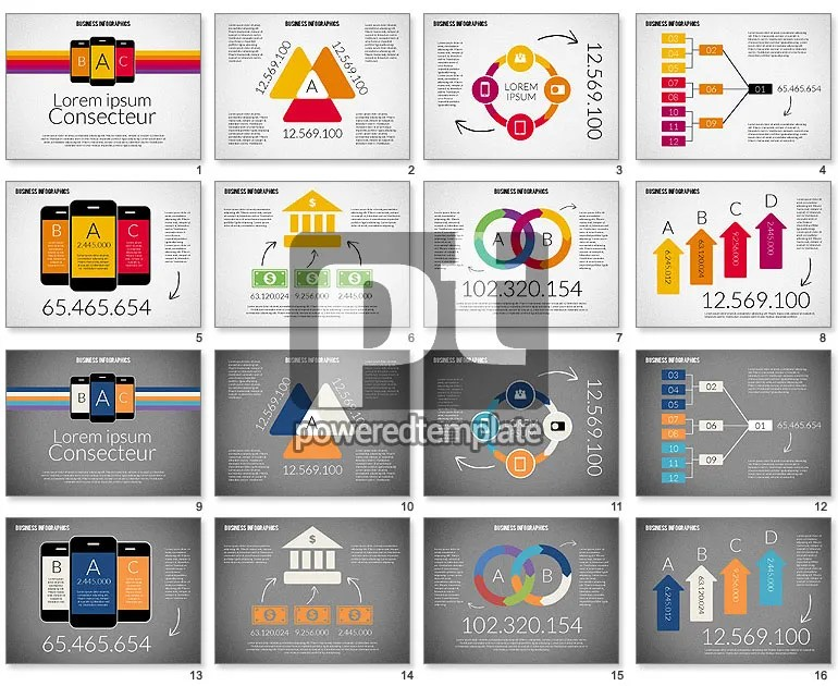 Business Infographics for PowerPoint Presentations, Download Now