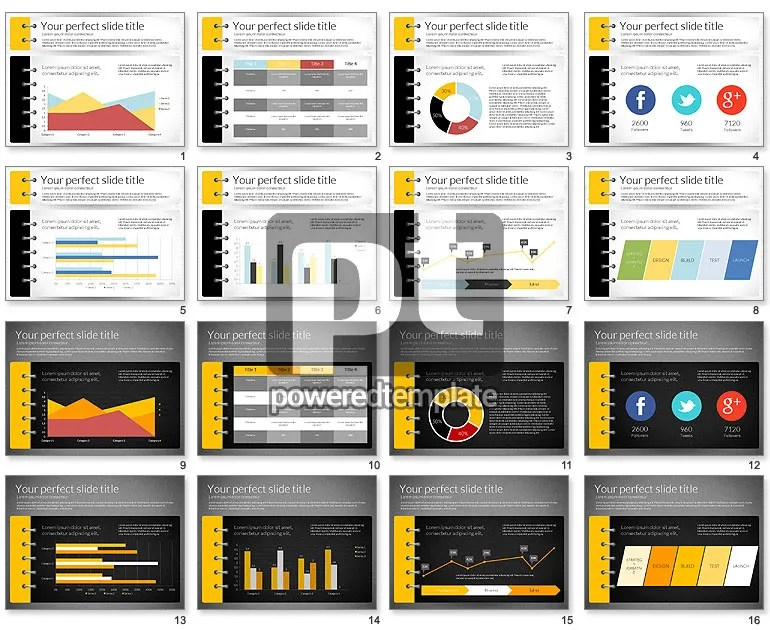 Smart Pitch Deck Presentation Template for PowerPoint Presentations - Presentations Template