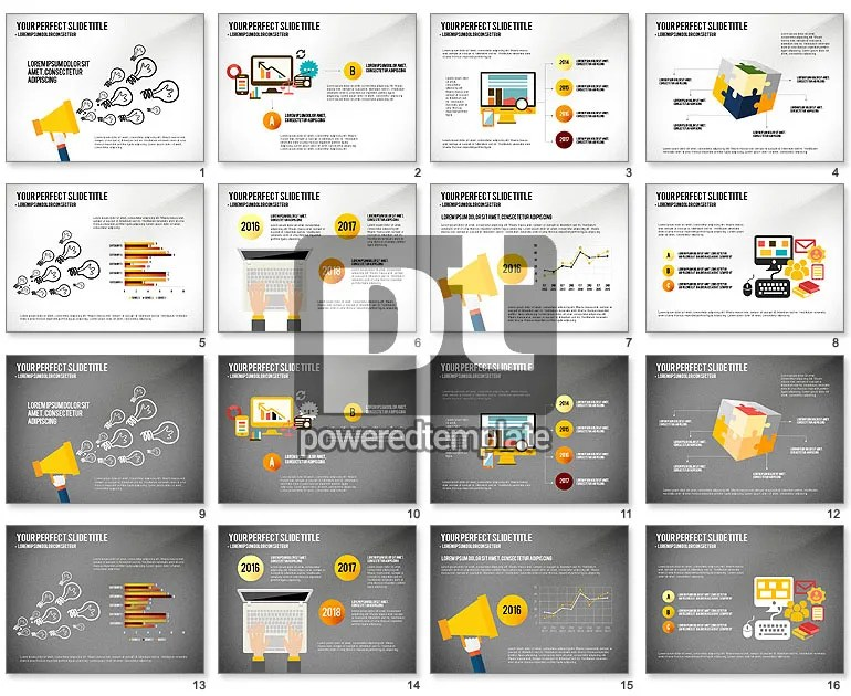Product Promotion Presentation Template for PowerPoint Presentations