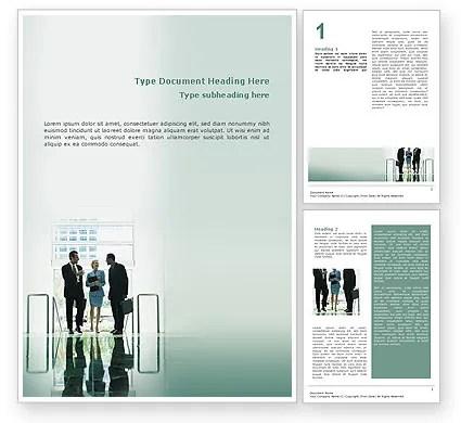 Corporate Word Template 02647 PoweredTemplate