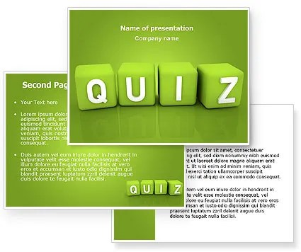 Quiz Powerpoint Template Free Animated Powerpoint Quiz Template For - free quiz template