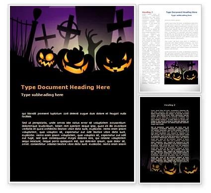 halloween template word - Towerssconstruction