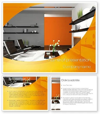 Construction Company Website Templates Template Monster Home Interior Design Powerpoint Template Backgrounds