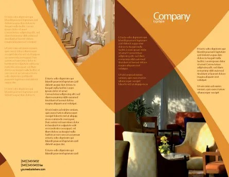 Hotel Restaurant Brochure Template Design and Layout, Download Now