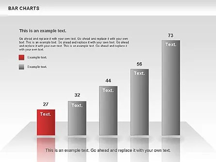 Bar Charts Collection for PowerPoint Presentations, Download Now - bar chart template