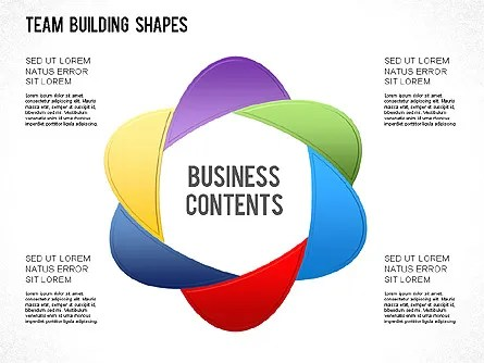Team Building Shapes Collection for PowerPoint Presentations