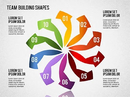 Team Building Shapes for PowerPoint Presentations, Download Now