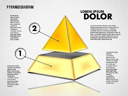 3D Layered Pyramid Diagram for PowerPoint Presentations, Download