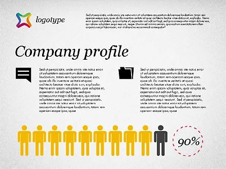 Free Company Profile Template Blugraphic Company Profile Presentation Template For Powerpoint