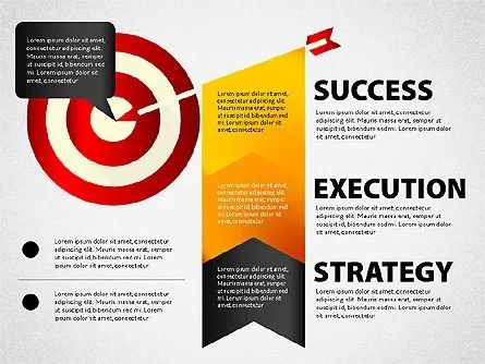 Strategy Execution Success Presentation Concept for PowerPoint