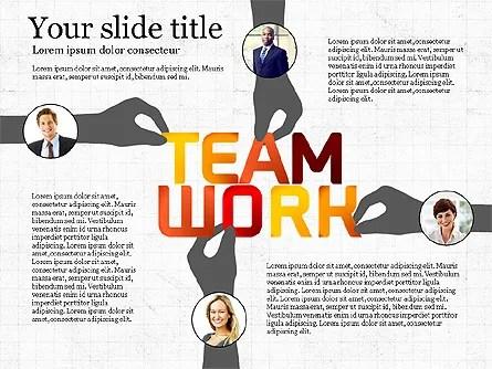 Teamwork Presentation Template for PowerPoint Presentations
