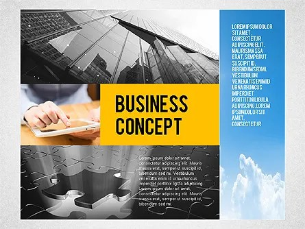 Consulting Company Profile Illustration for PowerPoint Presentations - consulting presentation templates