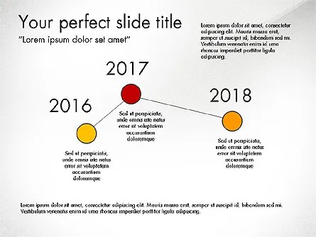 Branch and Timeline Presentation Concept for PowerPoint