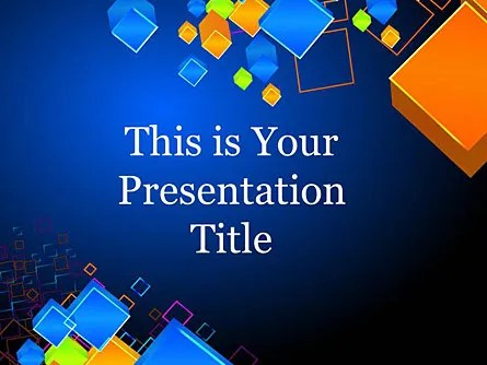 Futuristic Google Slide Themes for Presentations, Download Now
