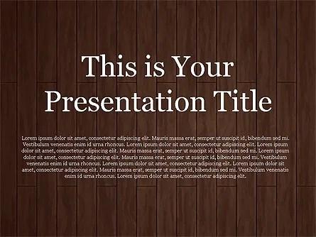 Chocolate Theme Google Slides Template PoweredTemplate