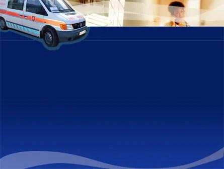 Ambulance PowerPoint Template, Backgrounds 00014 PoweredTemplate