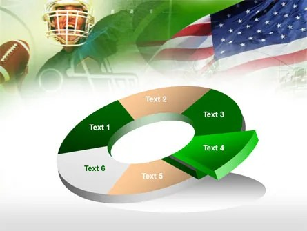 American National Sports PowerPoint Template, Backgrounds 00505