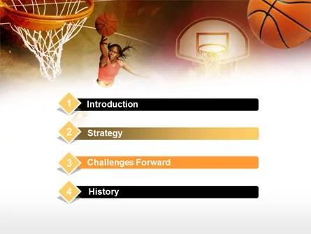 Women\u0027s Basketball PowerPoint Template, Backgrounds 00508 - basketball powerpoint template