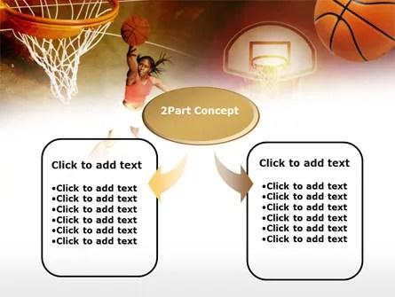 Womenu0027s Basketball PowerPoint Template, Backgrounds 00508 - basketball powerpoint template
