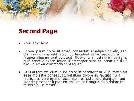 Asian Wedding PowerPoint Template, Backgrounds 01259
