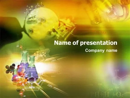 Organic Chemistry PowerPoint Templates PoweredTemplate - mandegarinfo