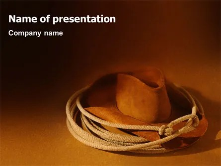 Western PowerPoint Templates and Backgrounds for Your Presentations