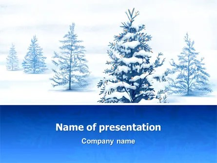Winter PowerPoint Templates and Backgrounds for Your Presentations