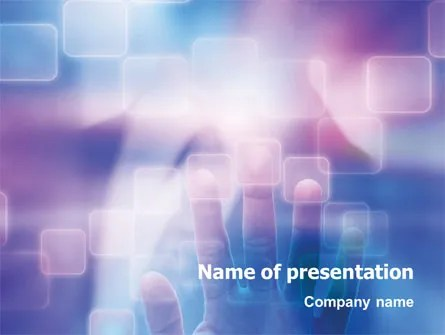 Interactive PowerPoint Template, Backgrounds 02946