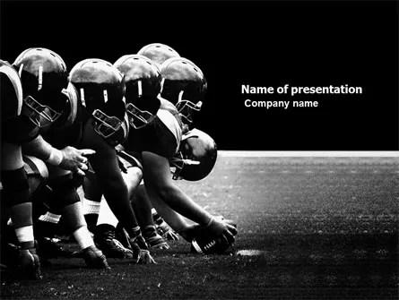 American Football Dallas Cowboys PowerPoint Template, Backgrounds - football powerpoint template