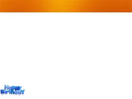 Happy Birthday PowerPoint Template, Backgrounds 03817
