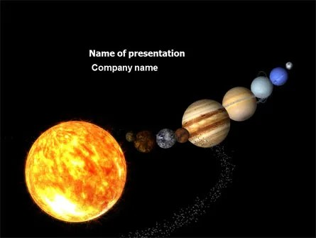 Planet Parade PowerPoint Template, Backgrounds 03842