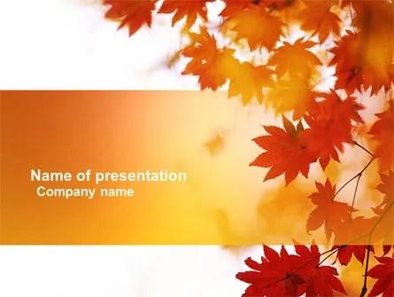 Autumn Season PowerPoint Template, Backgrounds 03898