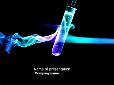 Industrial Chemistry PowerPoint Template, Backgrounds 03927