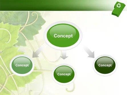 Recycling Technology PowerPoint Template, Backgrounds 04339 - recycling powerpoint templates