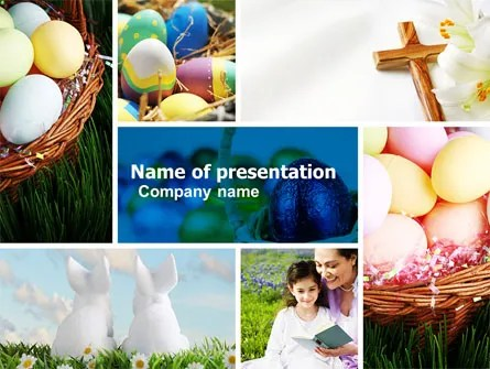 Easter Sunday Free PowerPoint Template, Backgrounds 05120