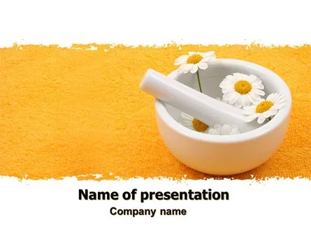 Herbal Medicine PowerPoint Template, Backgrounds 06227