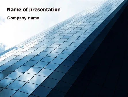 High Rise Building PowerPoint Templates and Backgrounds for Your