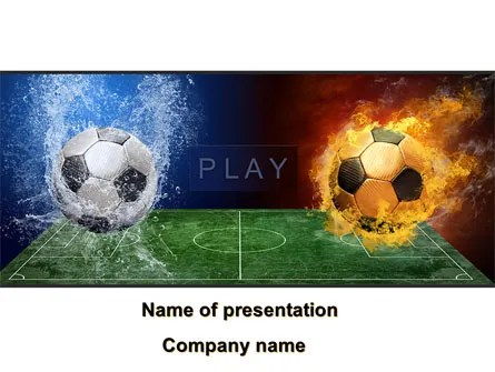 Football League Free PowerPoint Template, Backgrounds 08644 - football powerpoint template