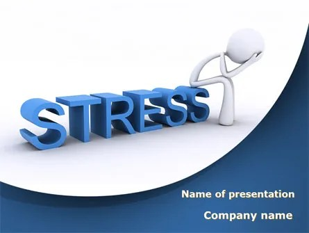 Stress Treatment PowerPoint Template, Backgrounds 09313