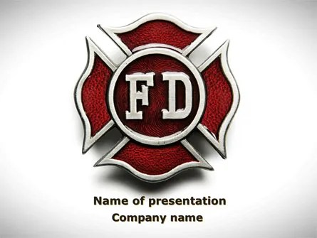 Fire Department PowerPoint Templates and Backgrounds for Your