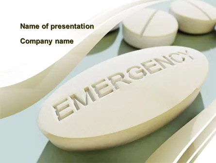Emergency Medicine PowerPoint Templates and Backgrounds for Your