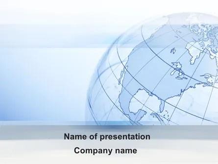 Transparent Globe PowerPoint Template, Backgrounds 10173 - global powerpoint template