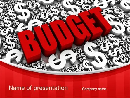 Government Budget PowerPoint Template, Backgrounds 10293