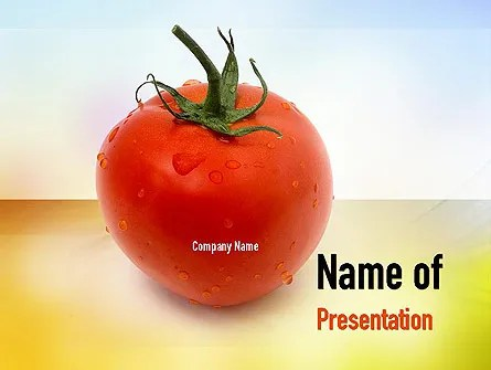 Natural Nutrition PowerPoint Template, Backgrounds 10935