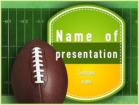 Fantasy Football PowerPoint Templates and Backgrounds for Your - football powerpoint template