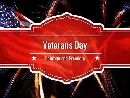 Veterans Day PowerPoint Templates and Backgrounds for Your