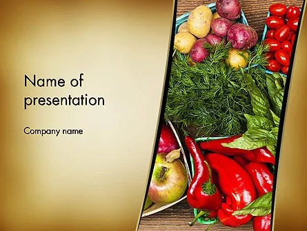 Healthy Diet Plan PowerPoint Template, Backgrounds 13181