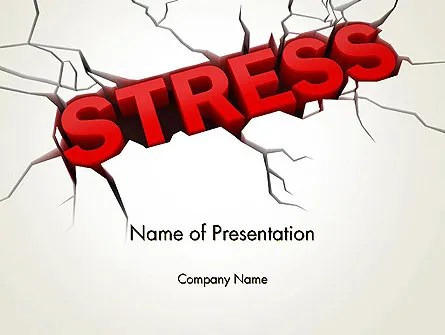 Heavy Stress PowerPoint Template, Backgrounds 13220