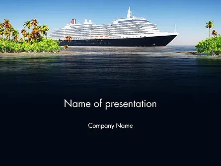 Cruise Ship PowerPoint Templates and Backgrounds for Your